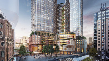 Tech-hub towers set to rise above Sydney's Central Station