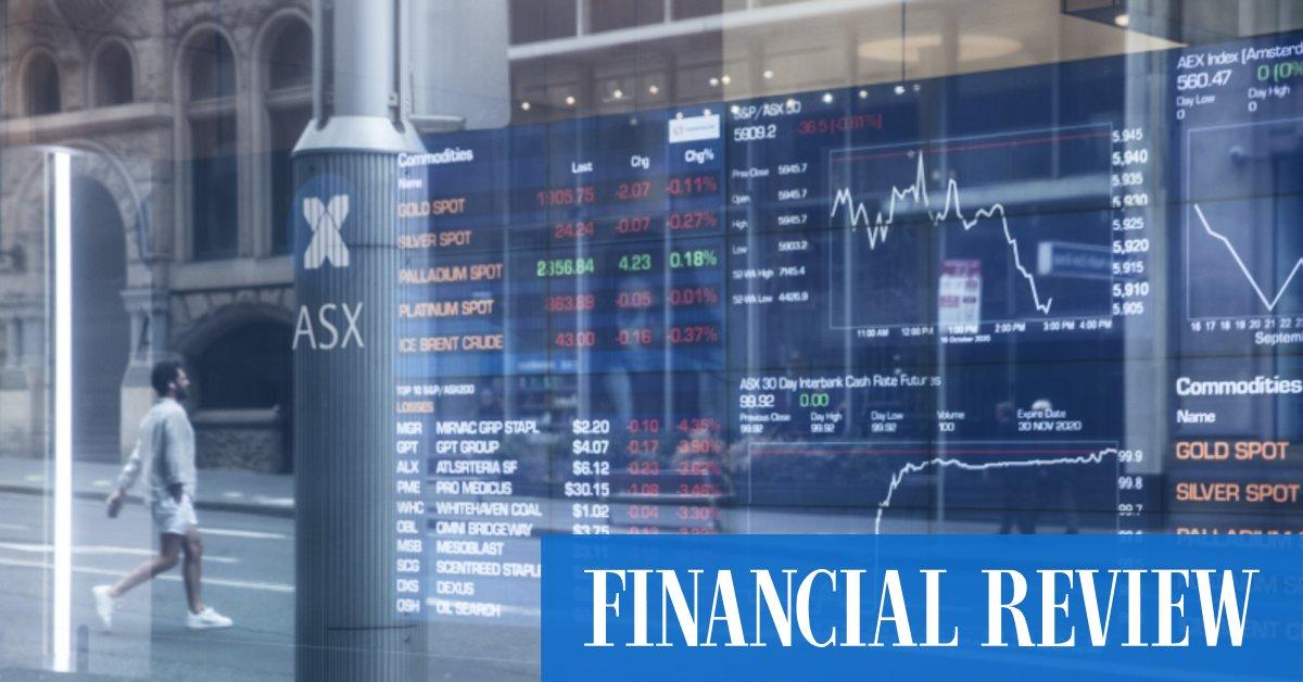 Sharemarket flat as bumper CSL result offsets broader weakness – The Australian Financial Review
