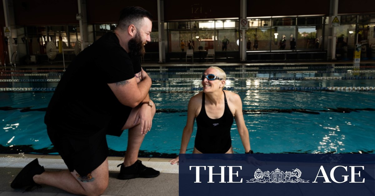 We should all be able to swim a kilometre. It's never too late to start