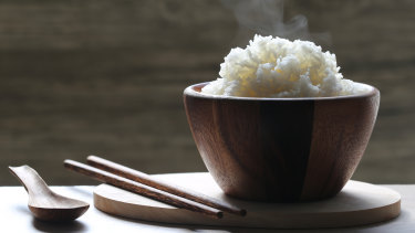 Research has found instant rice contains up to 13 milligrams of microplastics per 100g.