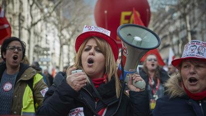 Macron's pension reform survives two confidence votes