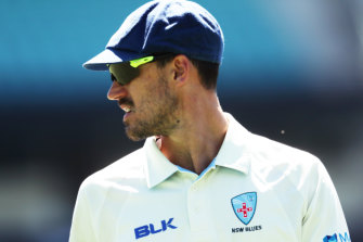 Mitchell Starc was at his devastating best at the SCG on Wednesday.