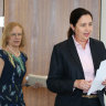 Queensland Premier Annastacia Palaszczuk, said the UK COVID virus  was 70 per cent more virulent.