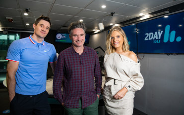 'Back in the game': 2Day FM pins hopes on Dave Hughes' star power