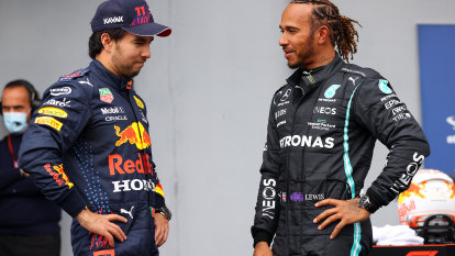 Hamilton takes pole ahead of both Red Bulls for Emilia-Romagna GP