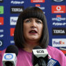 Rugby Australia chief Raelene Castle is under fire from all sides.