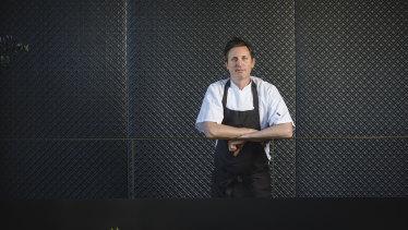 Aubergine owner and chef Ben Willis.