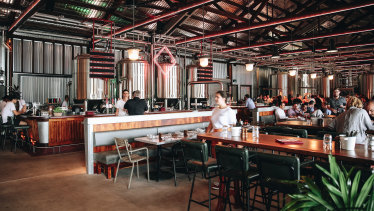 Felons Brewing Co at Howard Smith Wharves is one of several new craft breweries that have opened in Brisbane.