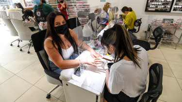 """Casey Knight has been positively """"dying"""" for a manicure."""