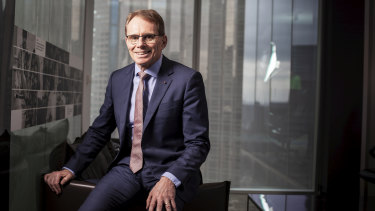 When Andrew Mackenzie talks about BHP's commitment to reducing its carbon emissions, it's pragmatism.