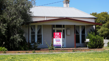 House prices surged in February.