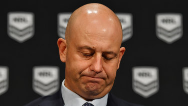 Drawing the line: Todd Greenberg has now stood down three players in a matter of days amid a spate of off-field incidents hitting the courts.