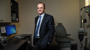 Australian Medical Association Victoria president Julian Rait.