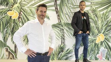 ZipCo co-founders Peter Gray (left) and Larry Diamond.