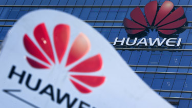 Under fire: Huawei still has partnerships with the Australian government despite being banned from working on some projects.