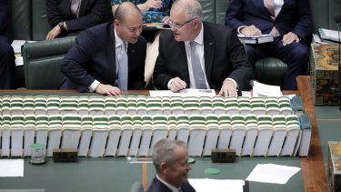 The Treasurer, the PM and the budget.