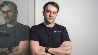 Perth entrepreneur Amir Farhand said his aerial mapping company was grappling with the realities of remote work, as some staff are housebound due to the coronavirus.