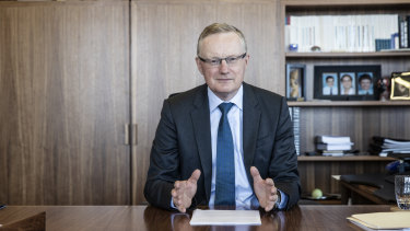RBA governor Philip Lowe said the bank's baseline scenario was that the Australian economy contracted by 6 per cent this year before growing by 5 per cent in 2021.