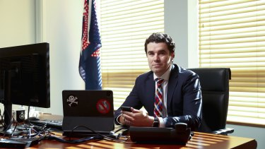 Labor's Tim Watts said there was a disconnect between the government's rhetoric on cybersecurity and the lack of action in helping the Archives.