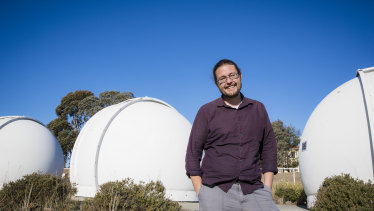 ANU astronomy professor Dr Brad Tucker.