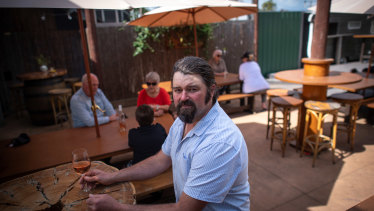Brett Knight, owner of Zephyrz Restaurant in Nagambie is worried about the state opening up too quickly.
