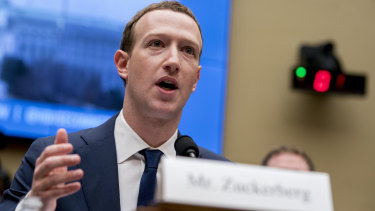 Facebook CEO Mark Zuckerberg has been under intense pressure to identify and root out fake political accounts.