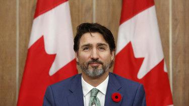 Justin Trudeau has been among the first to congratulate Joe Biden.
