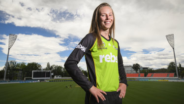 Sam Bates is determined to fill a void with a WBBL title.