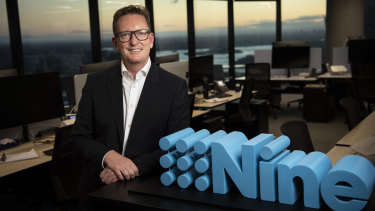 Nine's chief sales officer Michael Stephenson