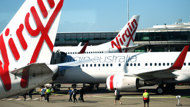 A stake in Virgin Australia's Velocity Frequent Flyers is up for grabs.