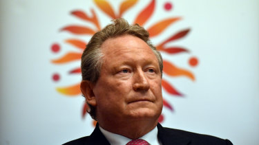 Fortescue Metals Group CEO, philanthropist and Walk Free co-founder Andrew 'Twiggy' Forrest.