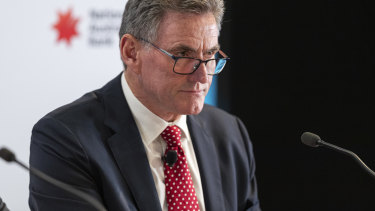 NAB's new CEO Ross McEwan starts in the job on Monday.