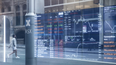 Australian shares edged higher on Wednesday.