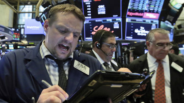 Wall Street jumped higher after the Fed statement.