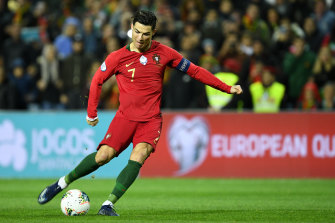 Cristiano Ronaldo starred in Portugal's big win.