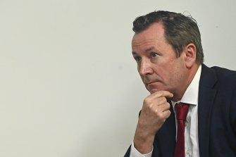 Cat among the pigeons: WA Premier Mark McGowan.