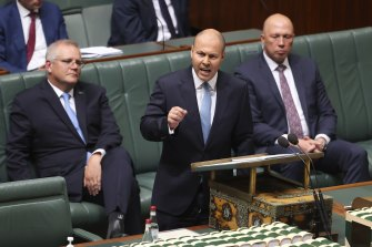 Treasurer Josh Frydenberg's 2021 budget has the fewest references to debt and deficit of any Coalition treasurer since the 2013 election.