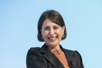 NSW Premier Gladys Berejiklian is in charge of an economy that needs a kick-start after the COVID-19 crisis.