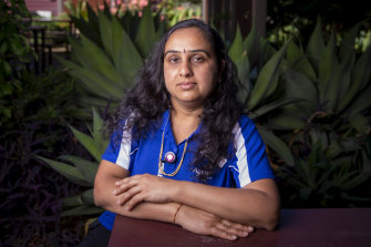 Megha Barot was forced to stop working for five months without sick pay this year.