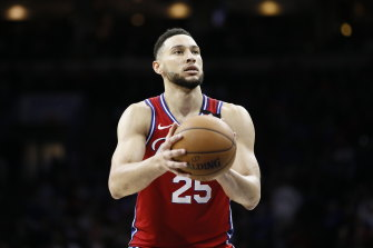 Ben Simmons had a triple-double for the 76ers.