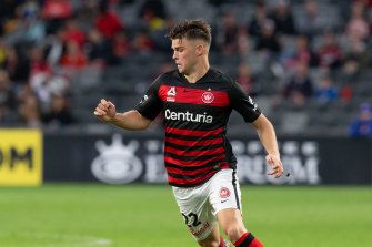 Portugal, the man: Wanderers midfielder Nick Sullivan shining in the A-League after working in Lisbon hostels.