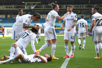 Leeds played in their second seven-goal thriller in as many weeks, but this time came away with the win.