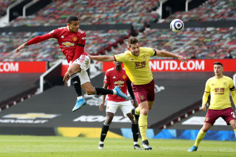Mason Greenwood was the hero of the day for Manchester United against  Burnley at Old Trafford.