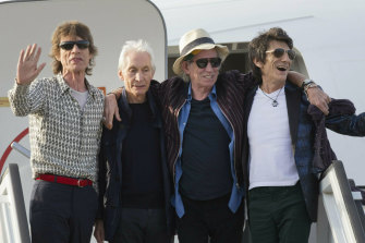 (From left) Mick Jagger, Charlie Watts, Keith Richards and Ron Wood, pictured in 2016.
