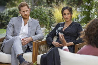 Huge ratings for Meghan and Harry's tell-all interview