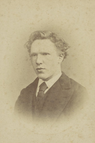 The only known photo of Vincent, aged 19.