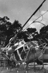 Mr Gatt injured his shoulder when he was on board a helicopter which crashed in the Blue Mountains in 1993.