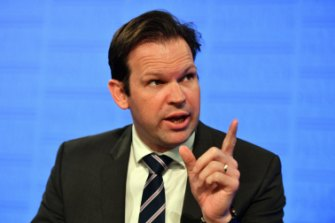 Resources Minister Matt Canavan had strongly backed the Adani project.