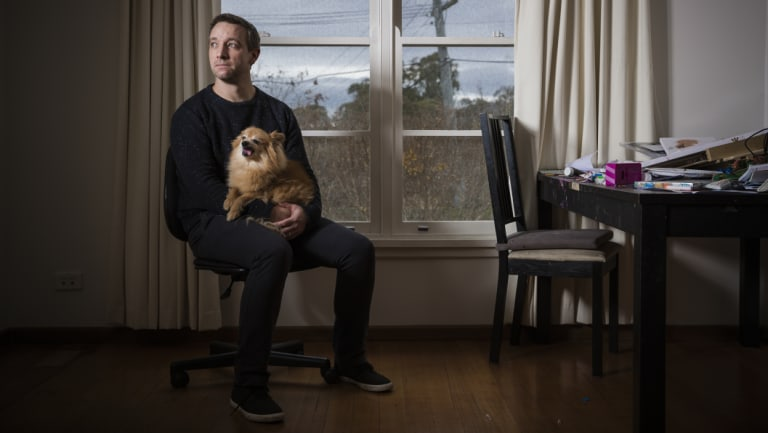 """Andrew Hutchinson: """"There's less distractions in Canberra."""""""