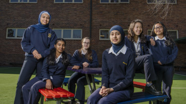 Birrong Girls has managed to avoid the year nine dip by having high expectations of its students.